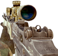 M14 EBR Desert MW2