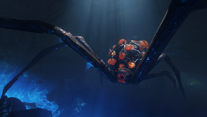Giant Spider ZnS BO3