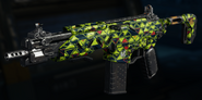 Peacekeeper MK2 Gunsmith Model Integer Camouflage BO3