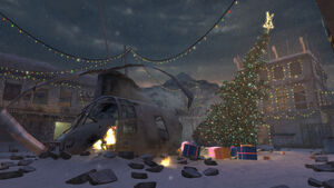 Bare Load Screen Winter Crash CoD4