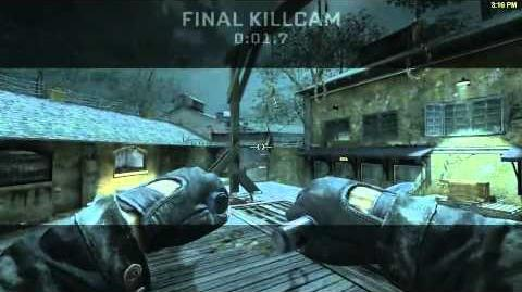 Ballistic knife Killcam