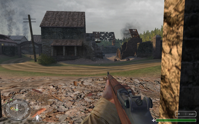 File:Flak 2 and porch Ste. Mere-Eglise-Day CoD1.png