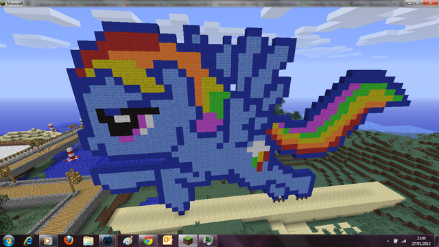 File:Rainbow Dash in Minecraft.png