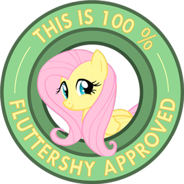 File:Fluttershy approved.png