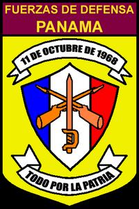 Fuerzas de Defensa de Panamá - (escudo)