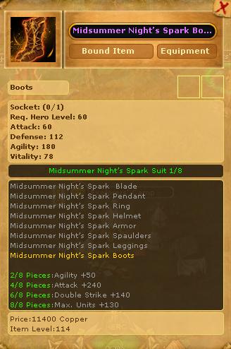Midsummer Night's Spark Boots