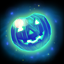 Blue pumpkin gem