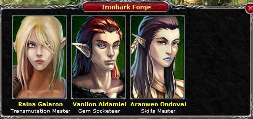 Elf Arthlan IronbarkForge