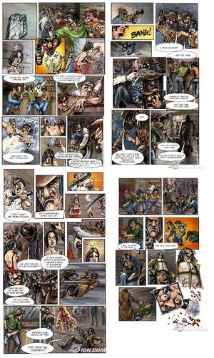 Call of Juarez comics