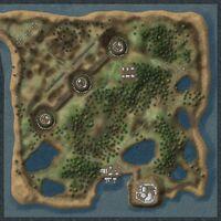 Isle of Glass map