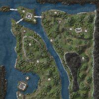 Hadrians Wall map
