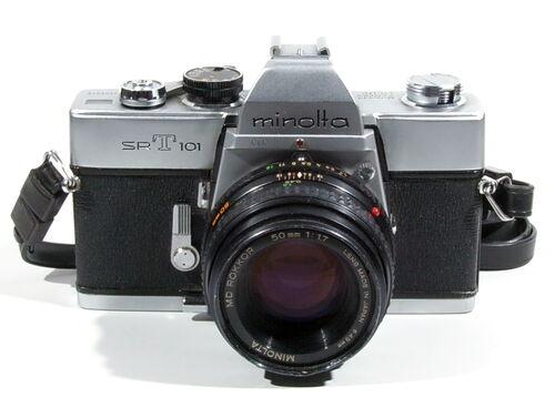 Minolta SR-T 101 16