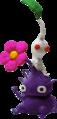 Purple White Pikmin