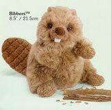 Aimee's beaver stuffed animal