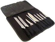 Knives in knife bag