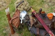 Cutcaster-photo-100096928-Ancient-roman-arms-and-armour
