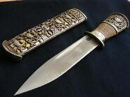 Celestial bronze knife