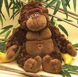 Aimee's gorilla stuffed animal