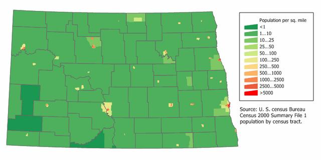 File:North Dakota population map.png