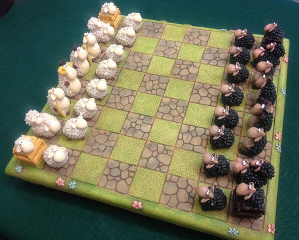 File:Black and white welsh sheep chess set.jpg