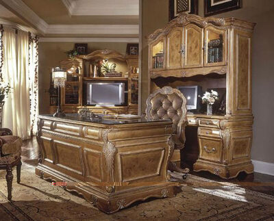 Classic-wooden-furniture-home-office-decorating