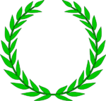 Laurel Character Wreath