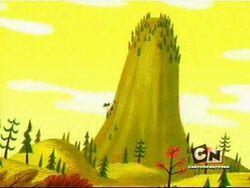 Pimpleback mountain