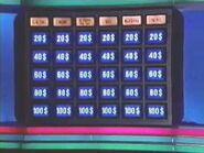 Québec Jeopardy Board
