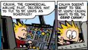 Calvin the Airline Pilot 4