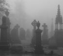 The Charred City Ruins and Graveyard