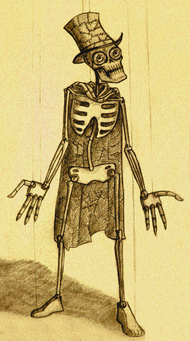 Skin taker from candle cove by screamasinclair-d3axo95