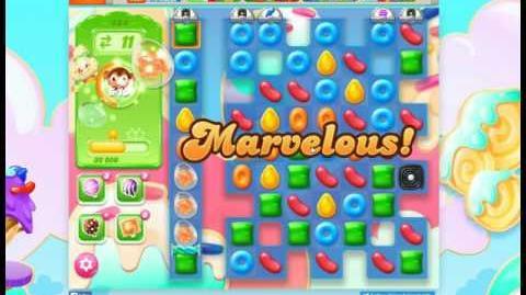 Candy Crush Jelly Saga Level 484 Hard Level No Booster