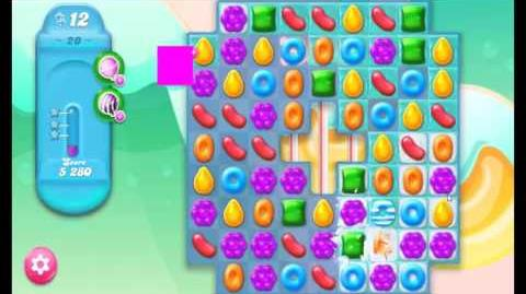 Candy Crush Jelly Saga Level 20 NEW (1st revision)