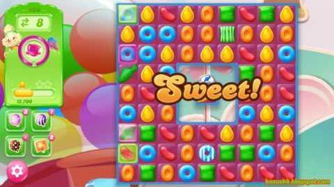 Candy Crush Jelly Saga Level 460 (3 star, No boosters)
