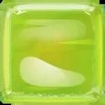 Jelly cube 1 green
