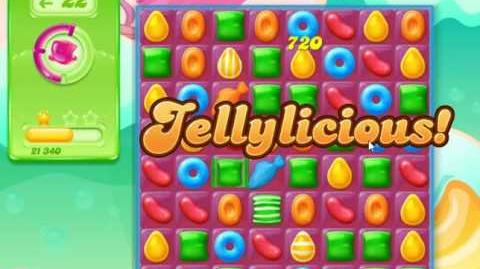 Candy Crush Jelly Saga Level 2 (Facebook) No Boosters 3 Stars!
