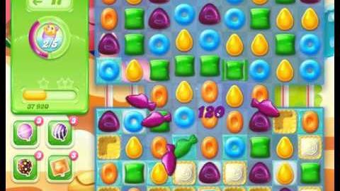 Candy Crush Jelly Saga Level 218 - No Booster (3 Stars)