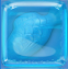 Candy Fish in Blue Jelly cube