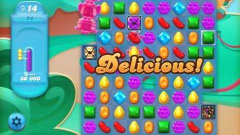 Candy Crush Jelly Saga Level 24