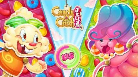 Candy Crush Jelly Saga Music Save Misty & Bitrhday Bash