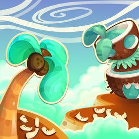 Coco Lagoon background