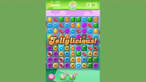 Candy Crush Jelly Saga - Level 30 - no boosters