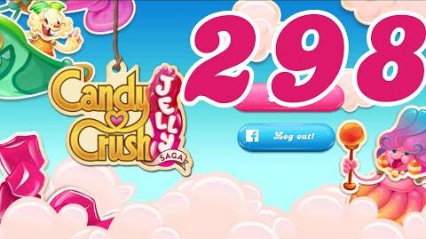 Candy Crush Jelly Saga Level 298 No Boosters