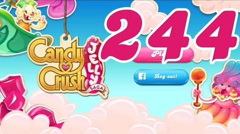 Candy Crush Jelly Saga Level 244 No Boosters