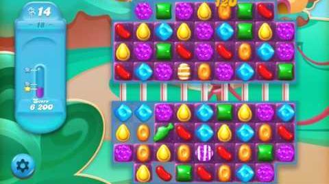 Candy Crush Jelly Saga Level 18