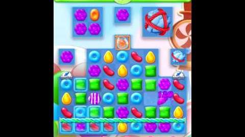 Candy crush jelly saga - Level 450 (22 moves)