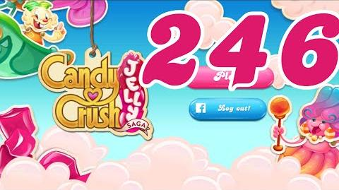 Candy Crush Jelly Saga Level 246 No Boosters