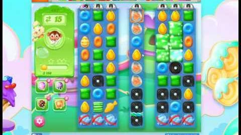 Candy Crush Jelly Saga Level 467 No Booster 3 Stars