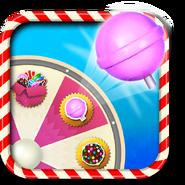 Lollipop Hammer booster wheel icon