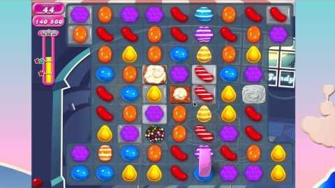 Candy Crush Saga Level 838 BEATEN IN 11 MOVES AND THREE STARS!